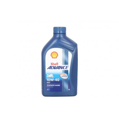 Olej SHELL ADVANCE 10W40 4T