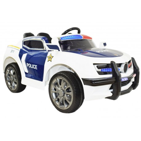 AUTO POLICYJNE 1028 SUPER DŹWIĘKI, SYRENY, ŚWIATŁA WERSJA EXCLUSIVE/1028