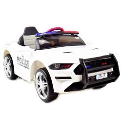 AUTO POLICJA, DŹWIĘKI, MIĘKKIE KOŁA EVA, MIĘKKIE SIEDZENIE/BBH0007