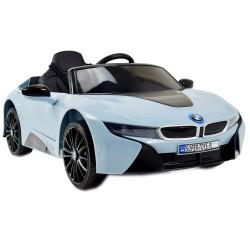 ORYGINALNE BMW I8 - MIĘKKIE KOŁA, MIĘKKIE SIEDZENIE/JE1001