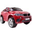 ORYGINALNE BMW X6M W NAJLEPSZEJ WERSJI, MIĘKKIE SIEDZENIE, PILOT 2.4 GHZ, LAKIER/ 2199