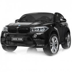 ORYGINALNE BMW X6M 2 OSOBOWE 2x120 WAT - W NAJLEPSZEJ WERSJI, MIĘKKIE SIEDZENIE, PILOT 2.4 GHZ, LAKIER/ 2168