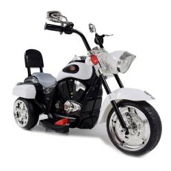 MOTOR CHOPPER STRIKE Z KUFERKIEM, KOGUTEM I POLICYJNYMI DŹWIĘKAMI/TR1508B