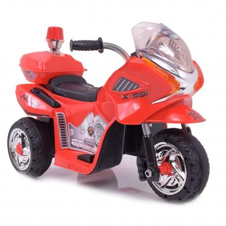 MOTOR, MOTOREK POLICYJNY Z KOGUTEM/WXE368