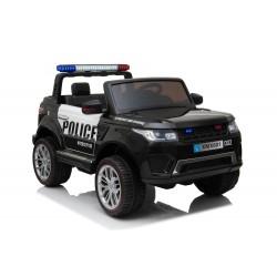 JEEP POLICJA 4X4, 2x12V Z AMORTYZATORAMI, PILOT, REDUKTOR/ XMX-601